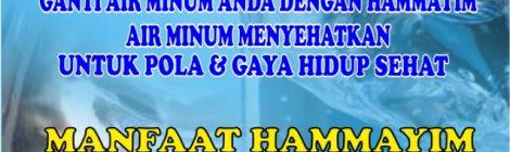 JUAL AIR KESEHATAN HAMMAYIM